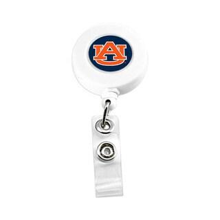 Auburn Tigers NCAA Retractable Badge Reel Id Ticket Clip