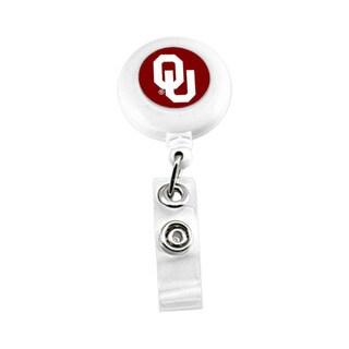Oklahoma Sooners NCAARetractable Badge Reel Id Ticket Clip