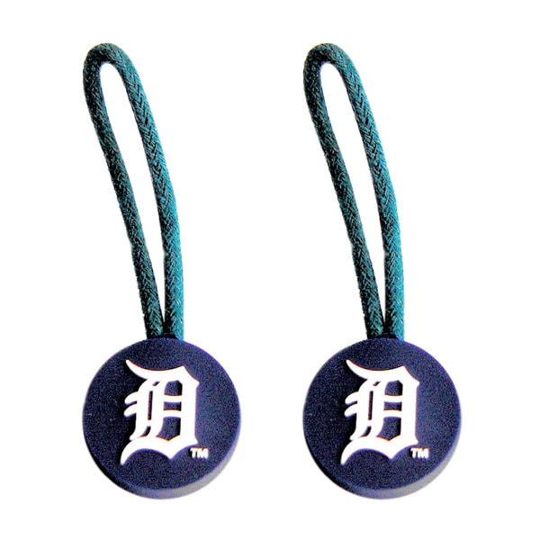 Detroit Tigers MLB Zipper Pull Charm Tag Luggage Pet Id Set