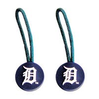 Detroit Tigers MLB Zipper Pull Charm Tag Luggage Pet Id Set