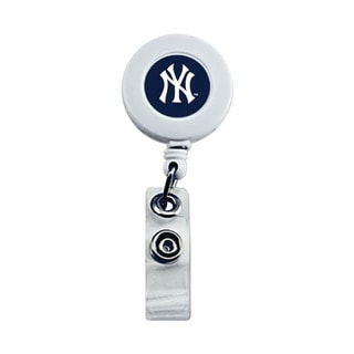 New York Yankees MLB Retractable Badge Reel Id Ticket Clip