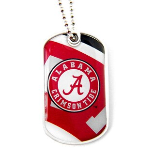 NCAA Alabama Tide Dynamic Dog Tag Necklace Charm