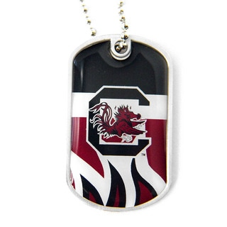 NCAA South Carolina Gamecocks Dynamic Dog Tag Necklace Charm
