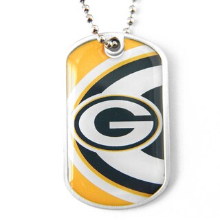 NFL Green Bay Packers Dynamic Dog Tag Necklace Charm