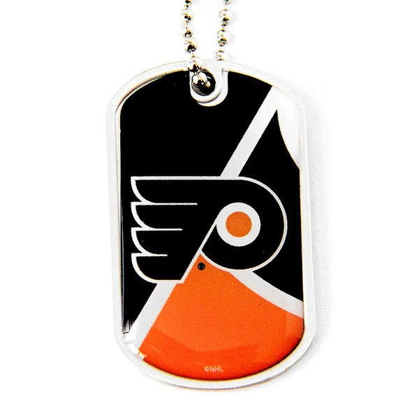 NHL Philadelphia Flyers Dynamic Dog Tag Necklace Charm