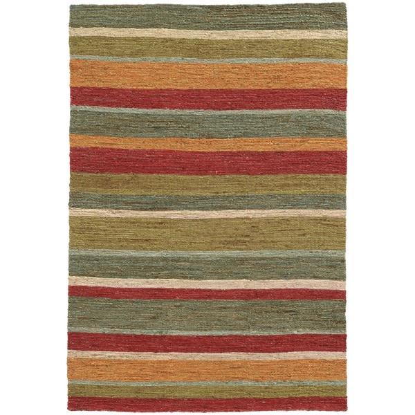 Tommy Bahama Valencia Multicolor Jute Area Rug (10' x 13') - 10' x 13'