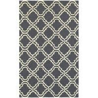 Tommy Bahama Atrium Grey/Ivory Area Rug (10' x 13') - 10' x 13'