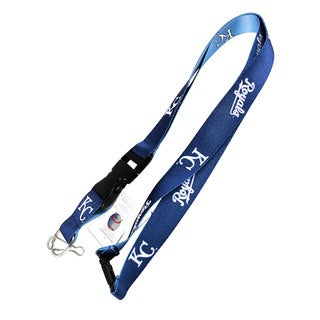 MLB Kansas City Royals KC Reversible Lanyard Keychain Id Ticket Holder