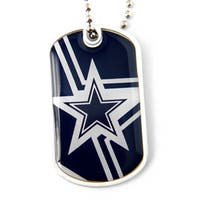 NFL Dallas Cowboys Dynamic Dog Tag Necklace Charm