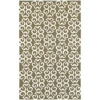 Tommy Bahama Atrium Brown/Ivory Area Rug - 8' x 10'