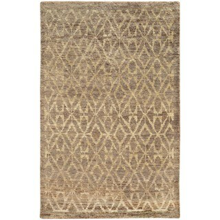 Tommy Bahama Ansley Taupe and Beige Jute Area Rug (8' x 10')