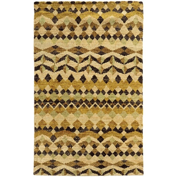 Tommy Bahama Ansley Beige/Gold Jute Area Rug - 8'x10'