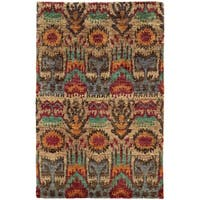 Tommy Bahama Ansley Beige/ Multicolored Jute Area Rug - 8'x10'