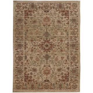 "Tommy Bahama Beige Wool Area Rug (7'10 x 10'10) - 7'10"" x 10'10"""