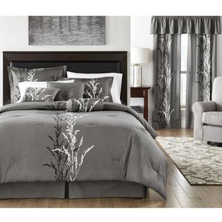 Presecco Grey Cotton Comforter Set
