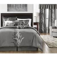 Presecco Grey Cotton Comforter Set