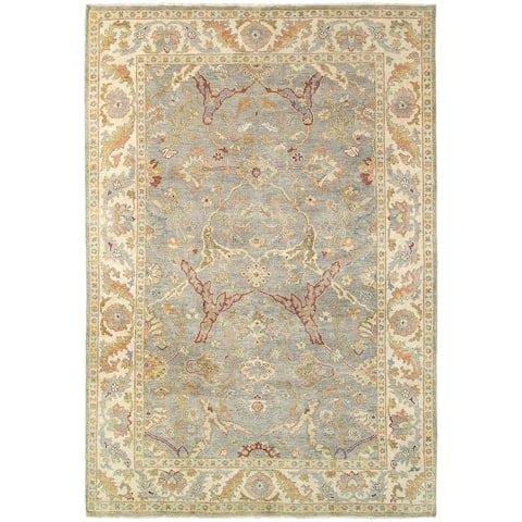 Tommy Bahama Palace Vintage Inspired Wool Hand Knotted Area Rug