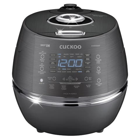 Cuckoo Electric Induction Heating Pressure Rice Cooker CRP-DHSR0609FD