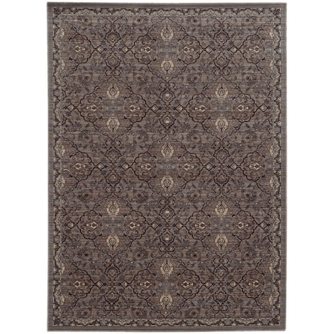 """Tommy Bahama Vintage Traditional Wool Area Rug - 9'10"""" x 12'10"""""""