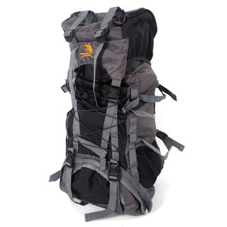 Free Knight 60L Outdoor Backpack (Option: Black)