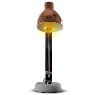 """Rose Gold 21"""" Metal Desk Task Lamp"""