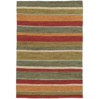Tommy Bahama Valencia Multi-colored Jute Area Rug (5' x 8') - 5' x 8'