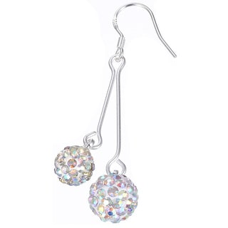 Hakbaho Jewelry White Cubic Zircon Drop Earrings