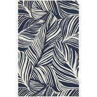 Tommy Bahama Atrium Blue/ Ivory Area Rug (5'x8') - 5' x 8'