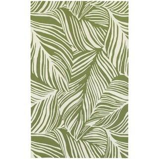 Tommy Bahama Atrium Green/ Ivory Area Rug (5'x8')