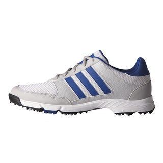 Adidas Tech Response Golf Shoes White/Collegiate Royal/Clear Onix