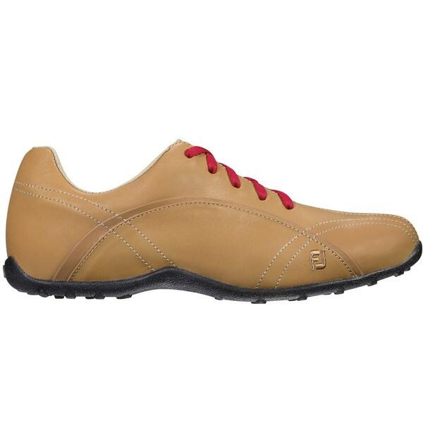 FootJoy Casual Spikeless Golf Shoes Womens Tan