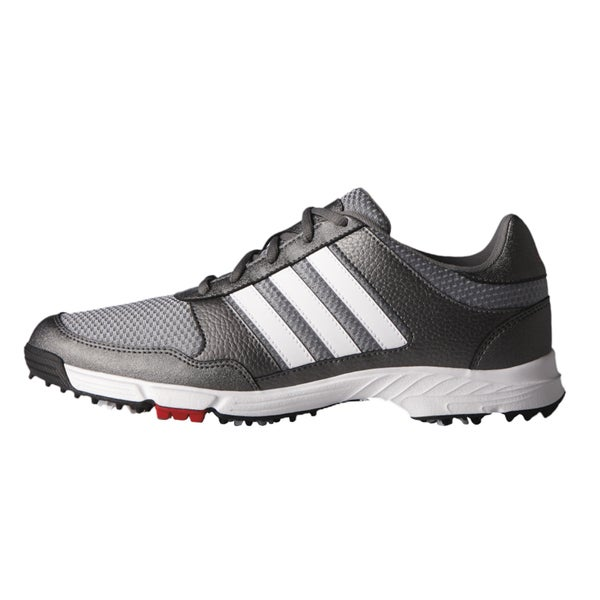 Adidas Tech Response Golf Shoes Iron Metallic/White/Core Black