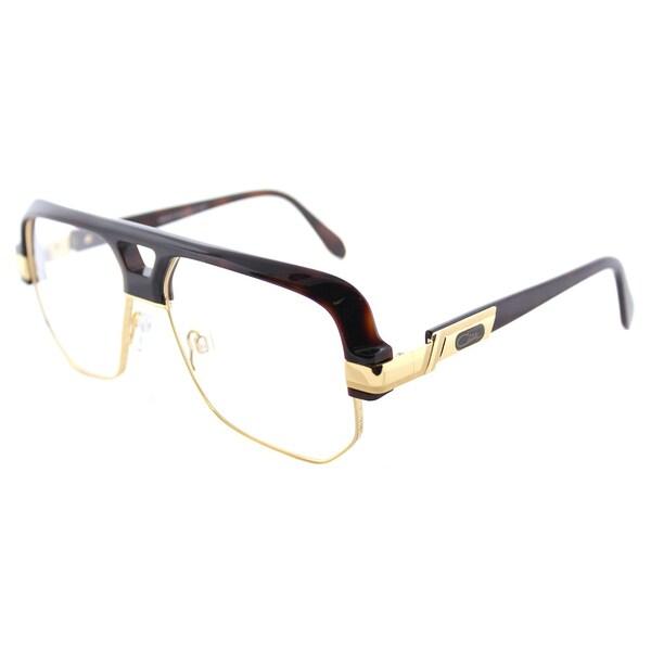 939581131905 Shop Cazal Square Cazal 672 080 Unisex Amber Gold Frame Eyeglasses ...