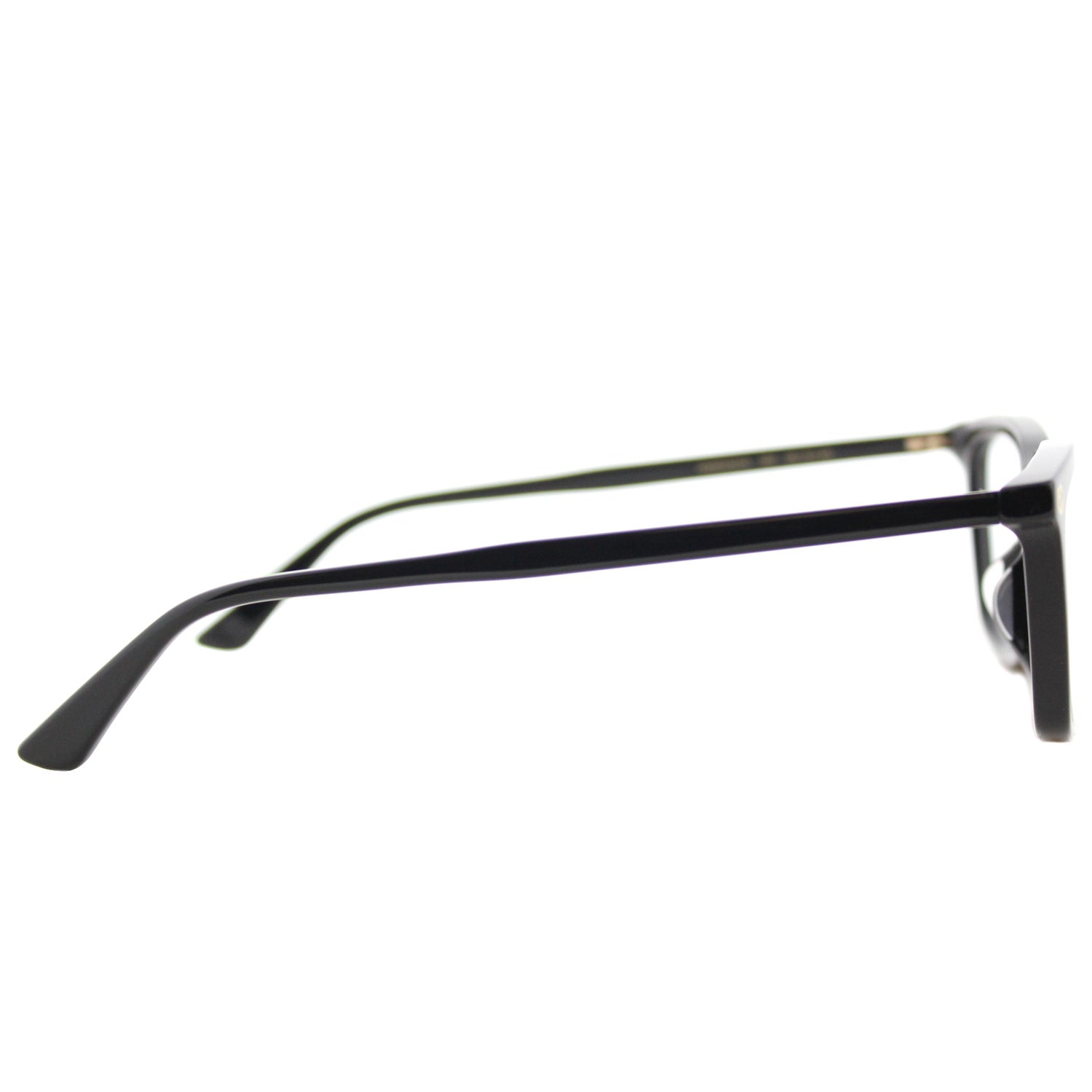 19d0327a425 Shop Gucci GG 0042OA 001 Asian Fit Black Plastic Cat-Eye Eyeglasses 55mm -  Free Shipping Today - Overstock.com - 16741951