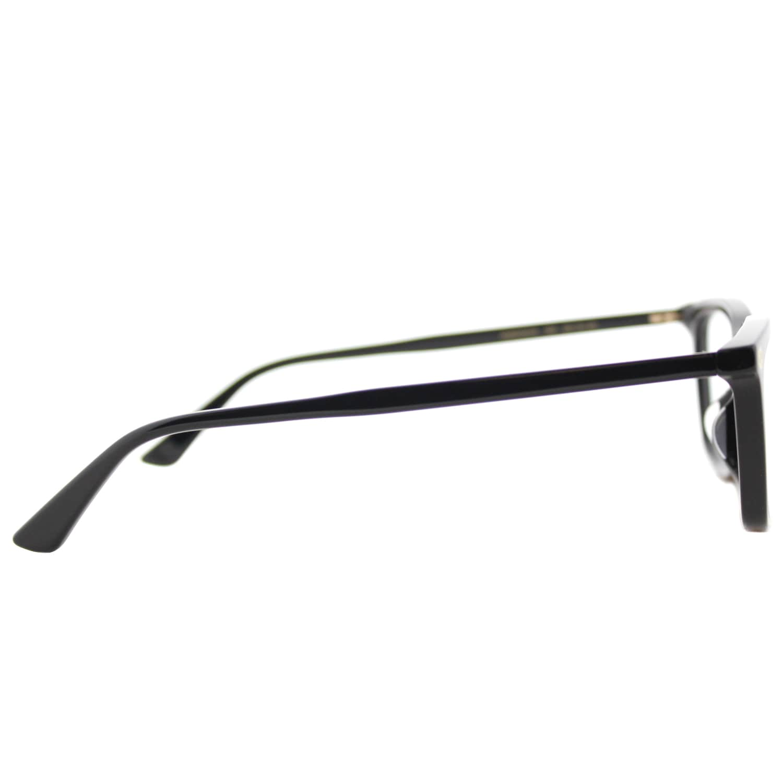 0e59cbd886a4 Shop Gucci GG 0042OA 001 Asian Fit Black Plastic Cat-Eye Eyeglasses 55mm -  Free Shipping Today - Overstock.com - 16741951