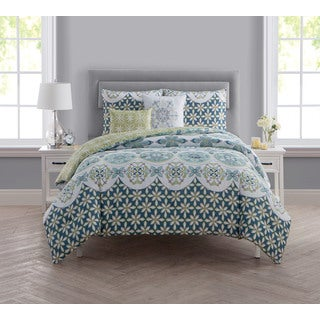VCNY Home Vandeliss 5-piece Reversible Comforter Set