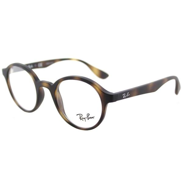 db2dc15b03c Shop Ray-Ban RY 1561 3616 Rubber Havana Plastic Round Eyeglasses ...