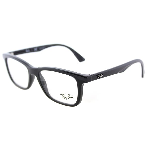 f0a5629ad0 Shop Ray-Ban RY 1562 3542 Shiny Black Plastic Rectangle Eyeglasses ...