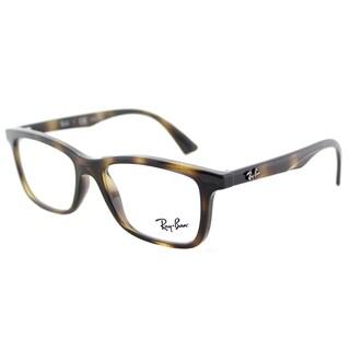 Ray-Ban RY 1562 3685 Havana Plastic Rectangle Eyeglasses 48mm