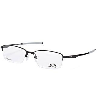 Oakley OX 5119 01 Limit Switch 0.5 Satin Black Metal Rectangle Eyeglasses 52mm