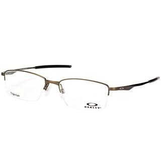 Oakley OX 5119 02 Limit Switch 0.5 Satin Pewter Metal Rectangle Eyeglasses 54mm