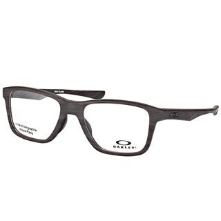Oakley OX 8107 03 Trim Plane (TRUBRIDGE) Matte Woodgrain Plastic Square Eyeglasses 53mm