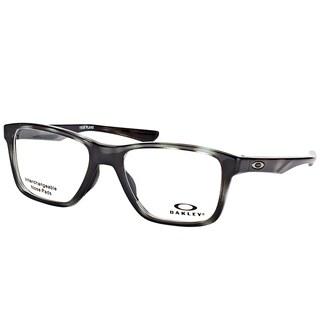 Oakley OX 8107 04 Trim Plane (TRUBRIDGE) Polished Brown Tortoise Plastic Square Eyeglasses 51mm