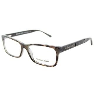 Michael Kors MK 4043 3260 Kya Grey Tort Graphic Plastic Rectangle Eyeglasses 51mm