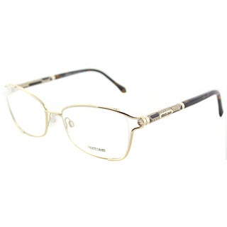 Roberto Cavalli RC 0964 032 Gold Metal Oval Eyeglasses 54mm