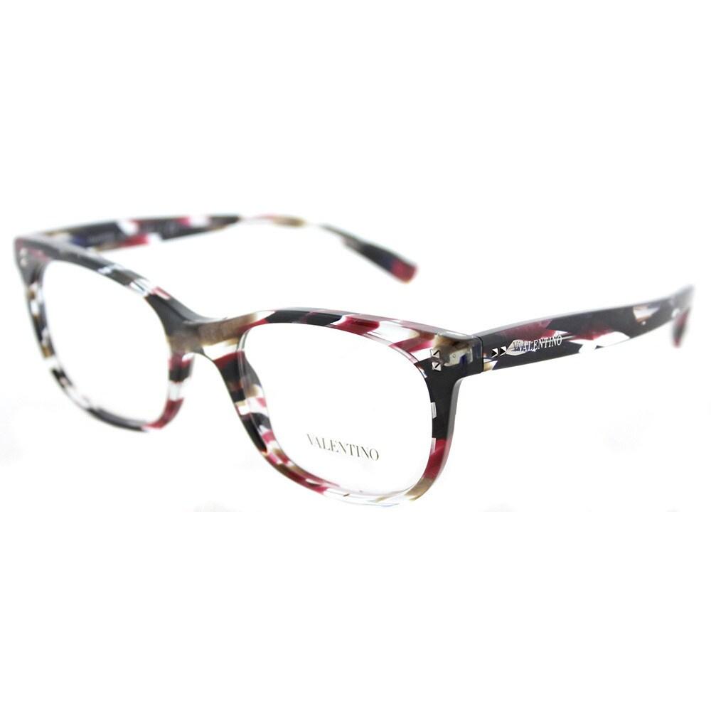 Demo Lens Eyeglasses Valentino 5283 Black G0ld