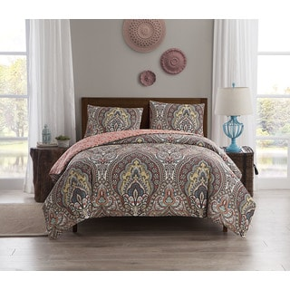 VCNY Home Palaci 3-piece Reversible Duvet Cover Set