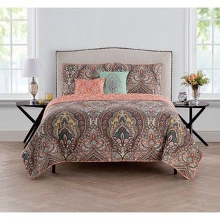 VCNY Home Palaci 5-piece Reversible Quilt Set