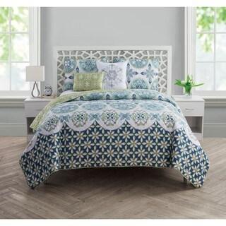 VCNY Home Vandeliss 5-piece Reversible Quilt Set
