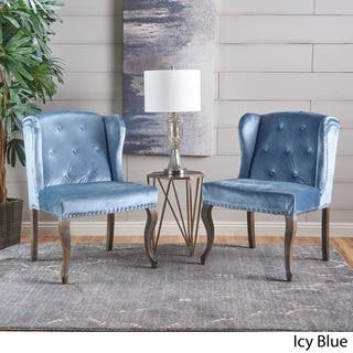 Buy Wingback Chairs Blue Living Room Chairs Online At Overstock